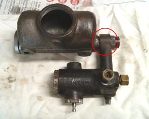Master cylinder assembled